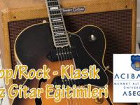 ASEGEM Müzik Performans Gitar Eğitimleri
