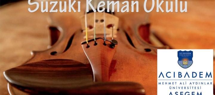 ASEGEM Müzik Performans Suzuki Keman Eğitimleri